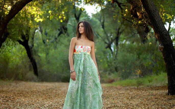 Vestidos de novia para una boda verde