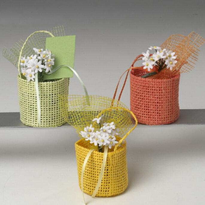 Cestitos para colocar bombones - (Regalos-de-boda.com)