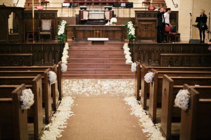 Decorar Altar De Iglesia ~ Como Decorar El Camino Al Altar De La Iglesia Decoracion