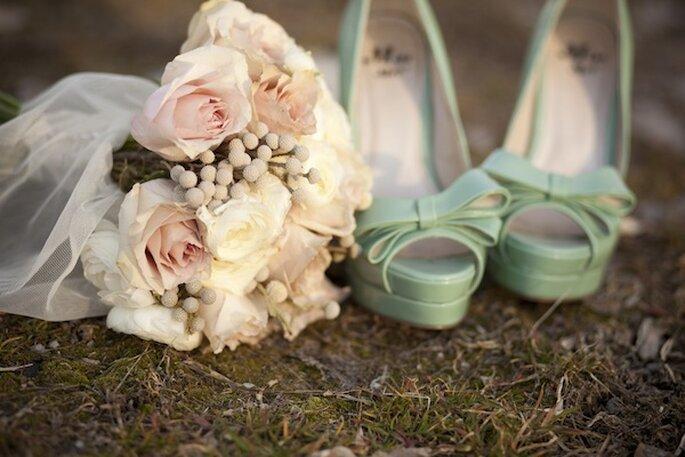 Presume tus increíbles tacones de novia en fotos - Foto Lora Grady Photography