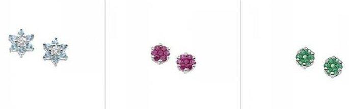 3 proposte tra diamanti, zaffiri e smeraldi nella collezione Jolie. Foto  www.comete.it