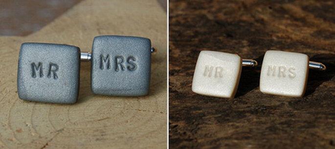Mr. & Mrs. Manschettenknöpfe