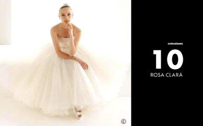 Colección de velos de Rosa Clará 2010