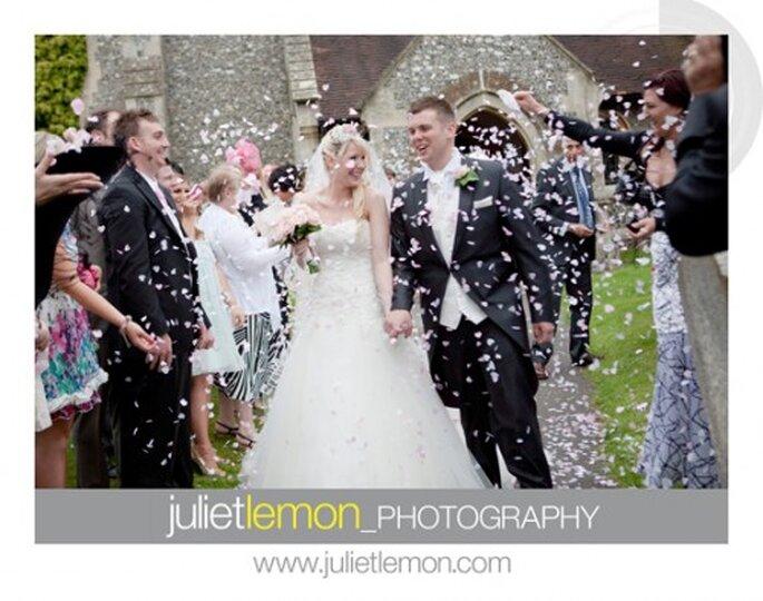 Lluvia de pétalos en tu boda