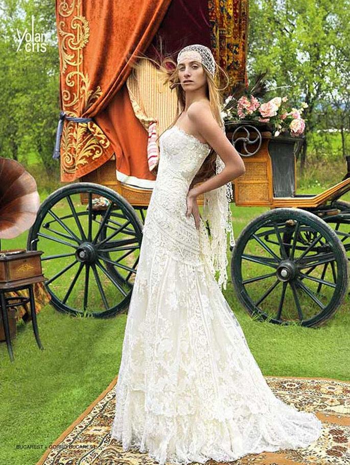 Robe de mariée 2011 en dentelle