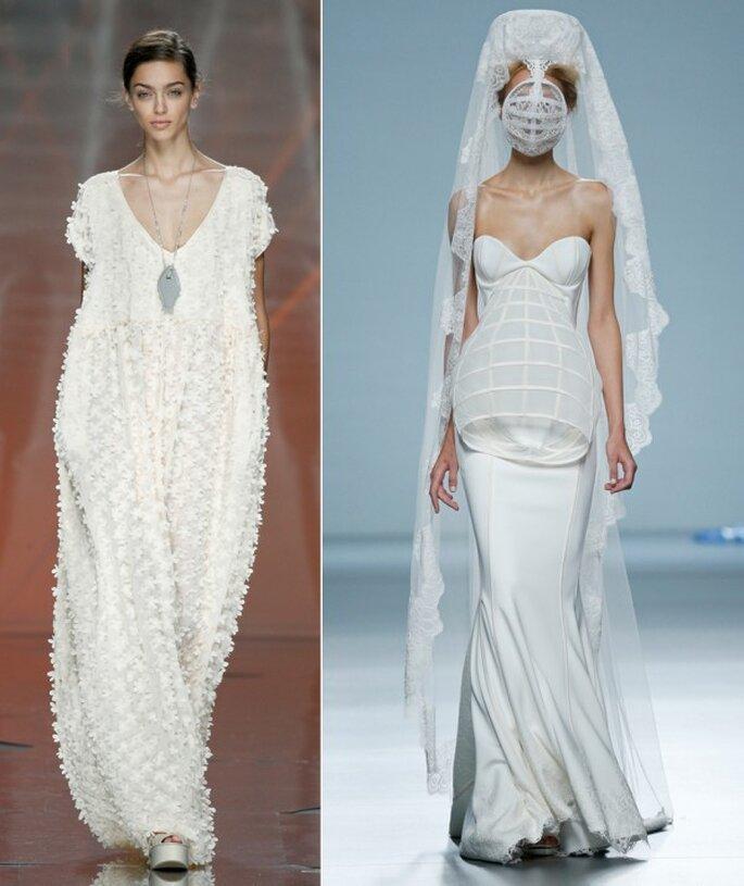 Vestidos de novia 2015 desde la semana de la moda de Madrid - Foto Ailanto y Maya Hansen