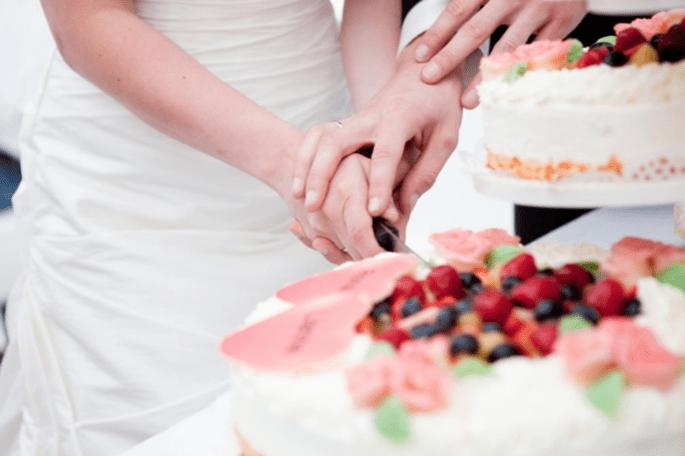 4 tendencias en pasteles de boda 2014. Fotografía Elles Rodenburg