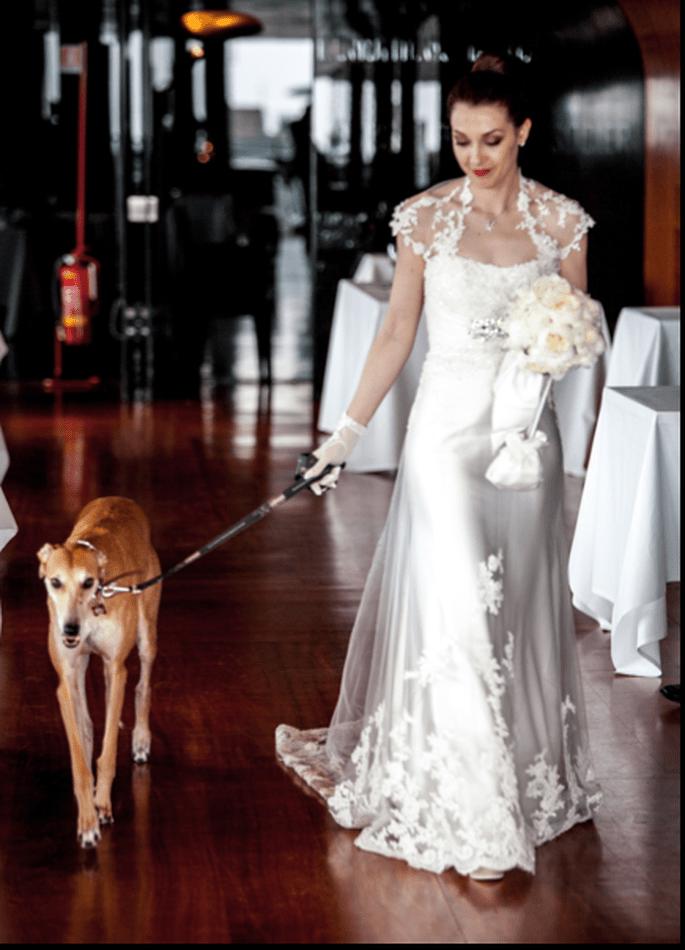 Il magnifico abito della sposa