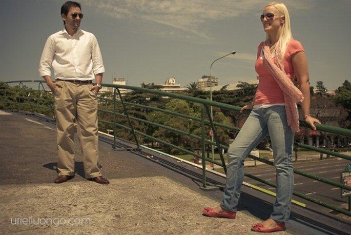 E-session Verónica y Fernando - Fotos: Uriel Luongo