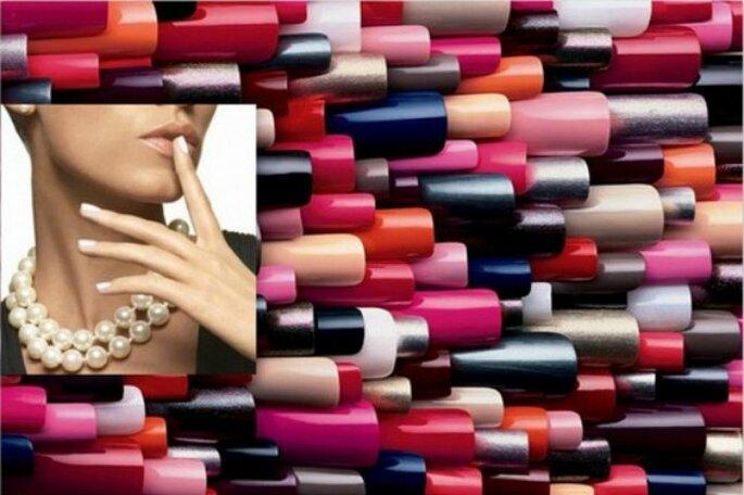 Quali sono i colori di smalto perfetti per il giorno del matrimonio? Scopritelo con noi! Foto:www.matrimonio.com e www.donna.tuttogratis.it