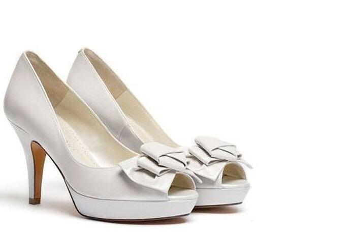 Estos zapatos de LODI fueron el primer premio que Sonia ganó en un sorteo de bodas. Foto: Sonia Justo