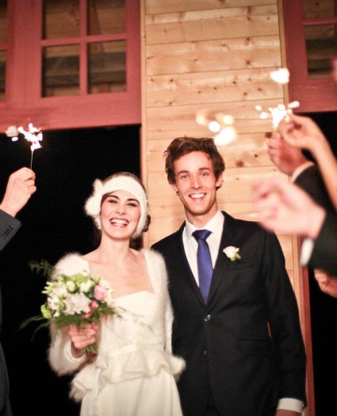 Mariage en hiver - Photo Céline Scaringi - Collection Carnets de Mariage