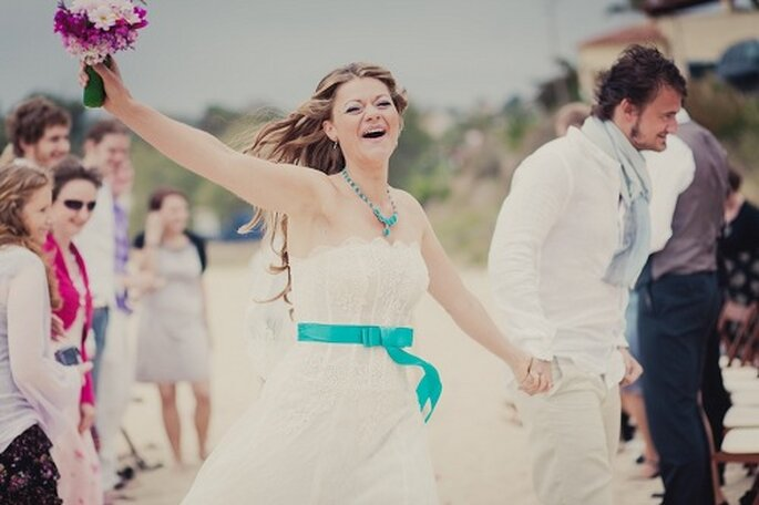Hochzeit auf Mallorca. Glück pur - Foto: Nadia Meli.
