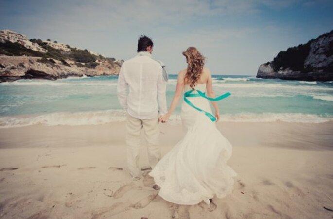 Tips para organizar una boda destino en la playa - Foto Nadia Meli