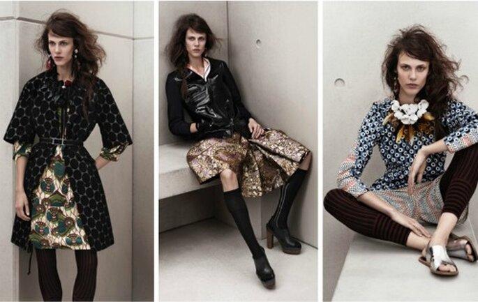 Grandi protagonisti di questa collezione sono stati i pois declinati in molteplici nuance. Marni for H&M