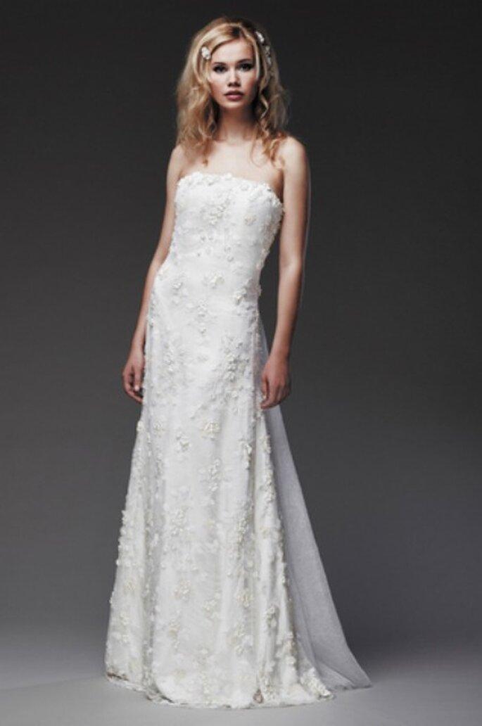 Robe de mariée bustier 2013 - Ana Quasoar
