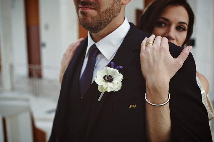 Mariage chic et raffiné à l'usine Ford. Photo: Jeffrey Lewis Bennett