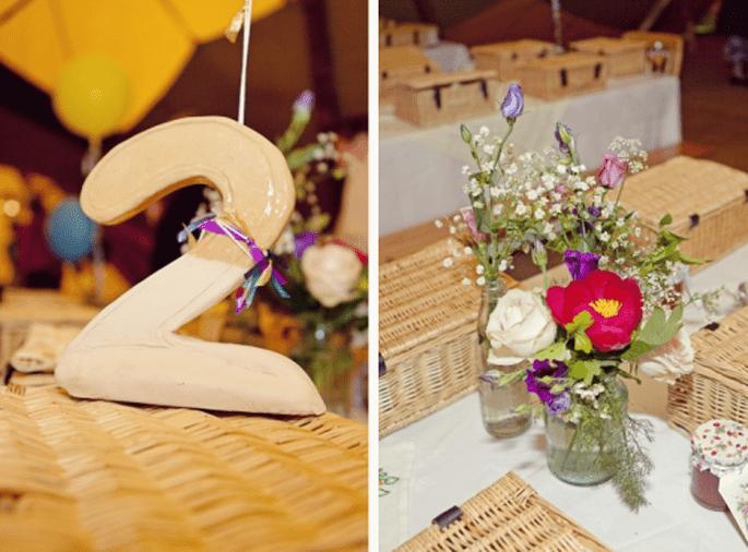 Ejemplos de decoración para una boda estilo vintage - Foto Cotton Candy Weddings