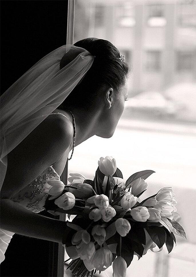 La depresión post-boda es un estado habitual tras la vuelta del viaje de novios. Foto: Jack McBride