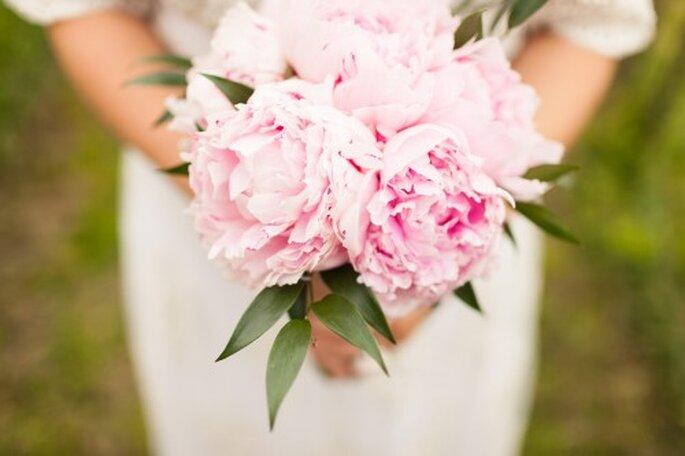 Brautsträuße in Pastellfarben sehen besonders romantisch aus – Foto: 2Rings Trouwfoto