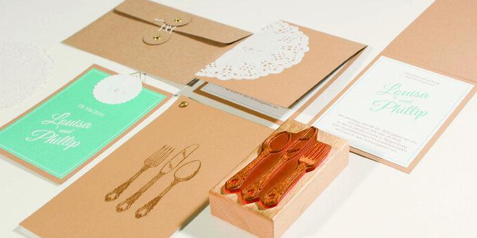 Hochzeitspapeterie - Designbüro Rebekka Bais