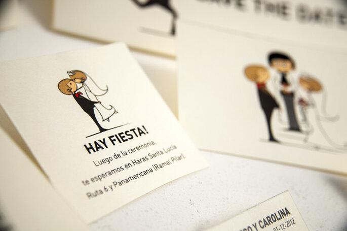 Tendencias originales para invitaciones de boda. Entrevistas a