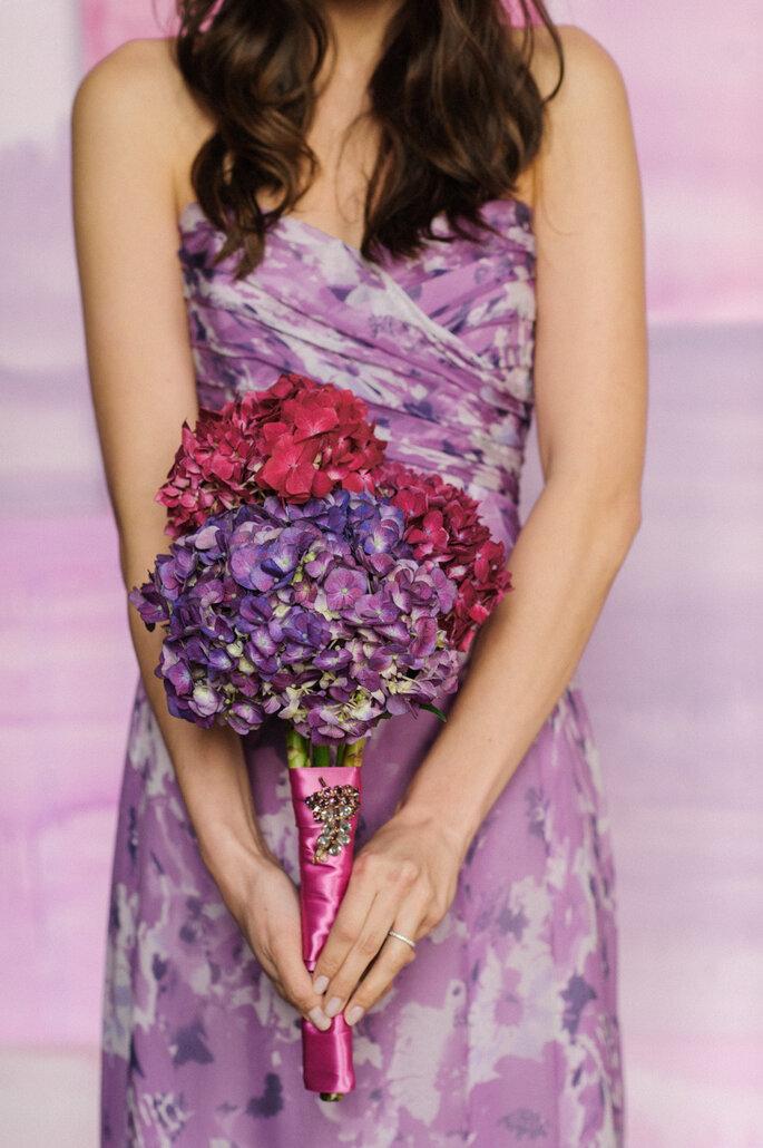 Púrpura en tu boda - Kat Harris Photography