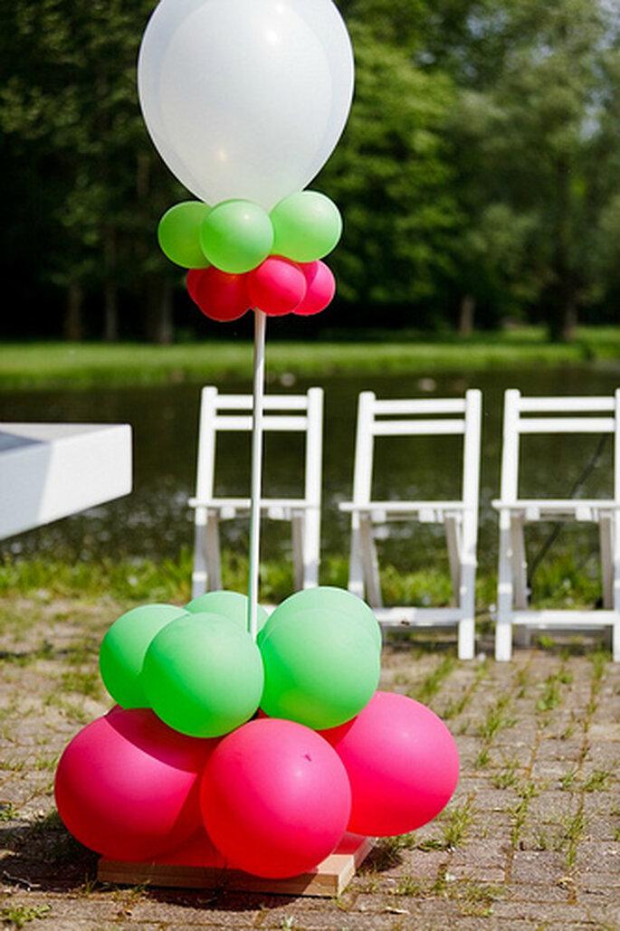 Hochzeitsdekoration - haben Sie schon mal an Luftballons gedacht?