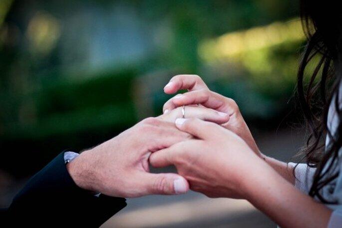 Le plus important reste votre échange de voeux - Photo Céline Scaringi - Mariage Carnets de Mariage