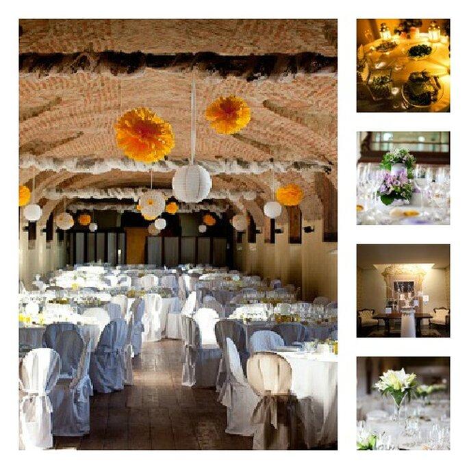 Le decorazioni, il gusto per i particolari, la scelta dei menù e del catering... Rosso di seta pensa a tutto! Foto: rossodiseta
