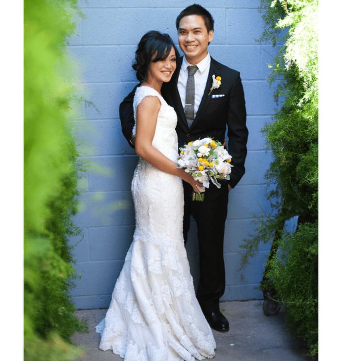 Cómo peinar el fleco el día de mi boda - Foto Elizabeth Ann Photography