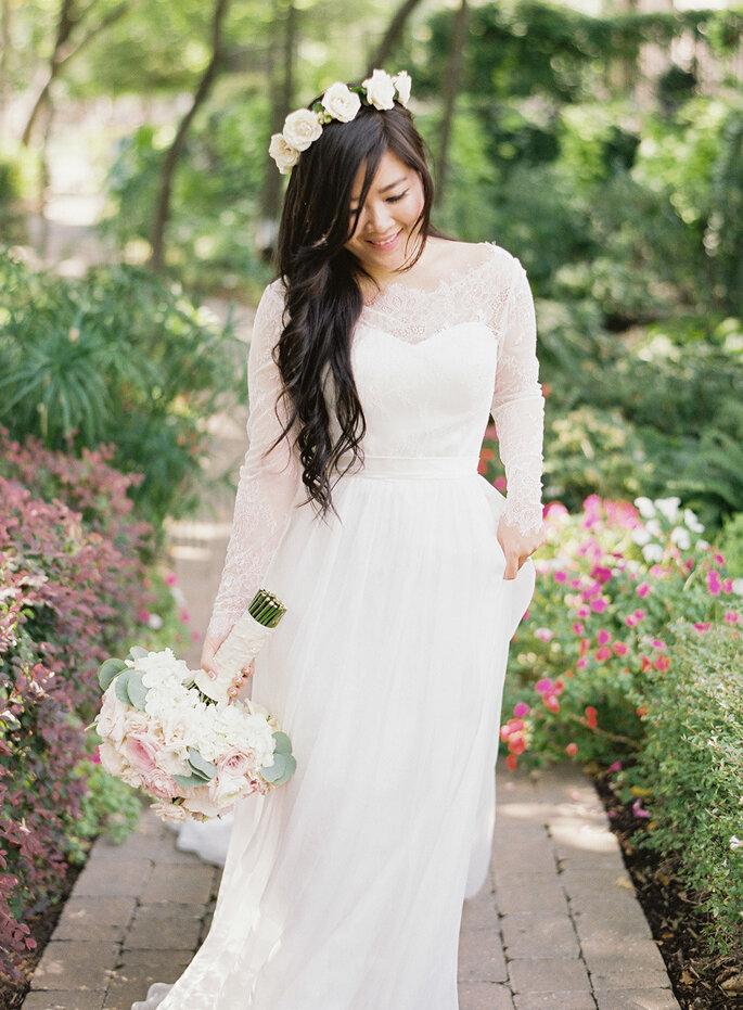 5 tips para verte perfecta con tu vestido de novia - Heather Hawkins
