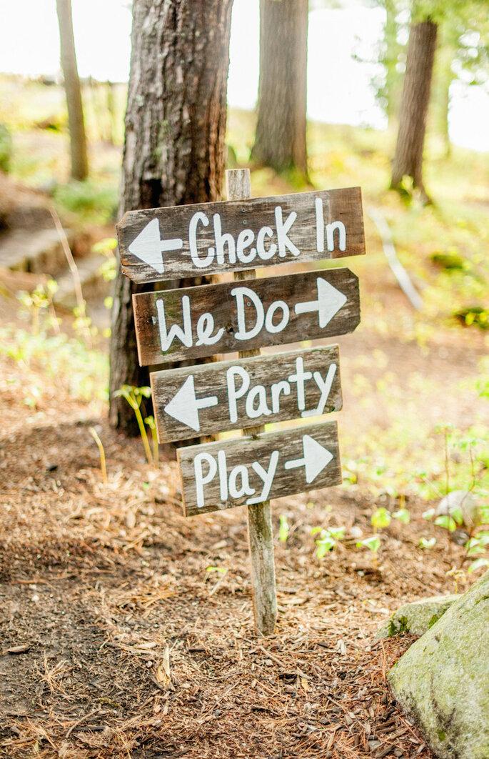 Cómo decorar una boda rústica en 2015 - Justin & Mary