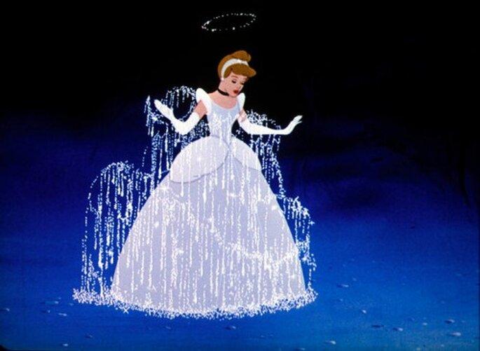 Zapatos de novia inspirados en Cenicienta - Foto Cinderella Facebook