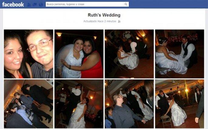 Pide a tus invitados que te etiqueten en sus álbumes de Facebook del día de tu boda