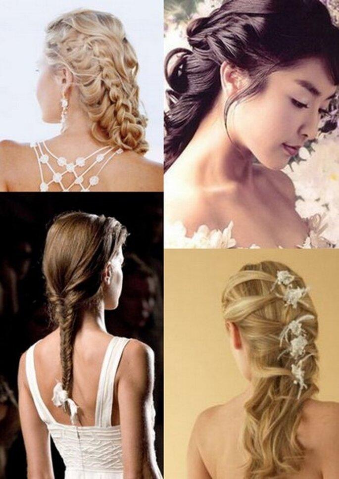 Penteados para Noivas 2011 - Tranças