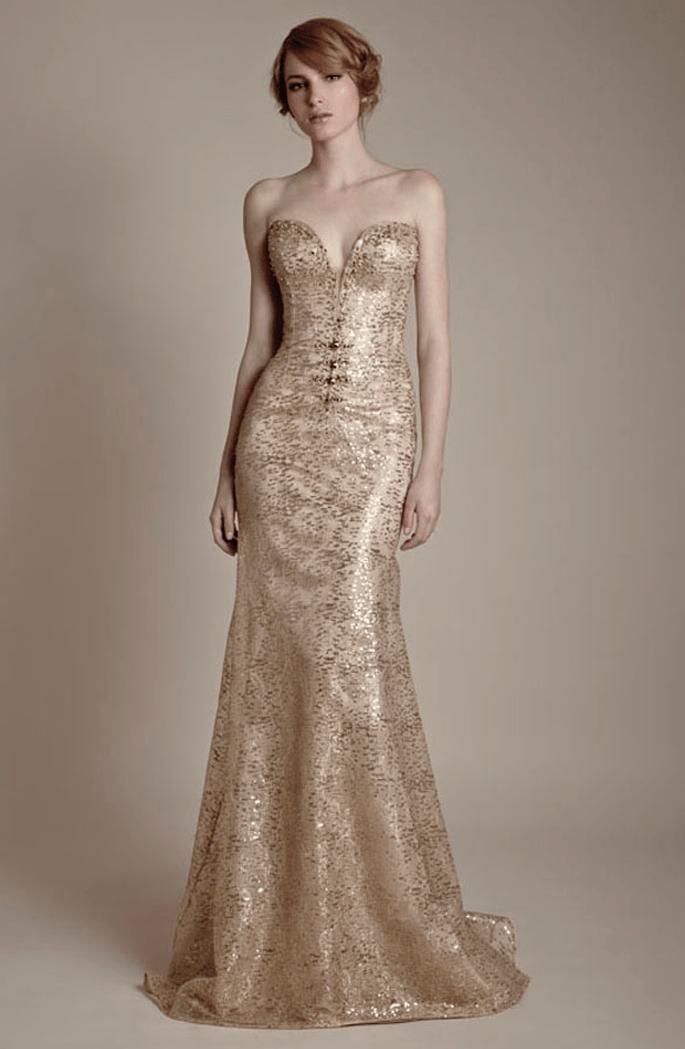 Vestido estilo art decó - Foto Ersa Atelier