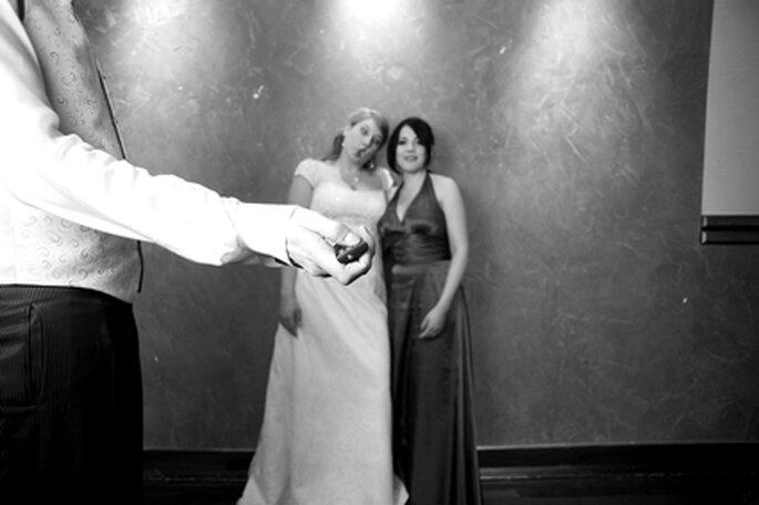 Nicht nur für die Brautleute eine wunderbare Erinnerung. Foto: www.yourphoto.de
