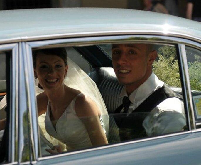 Gli sposi sorridenti e felici dopo il sì! Foto Edoardo Agresti Photographer