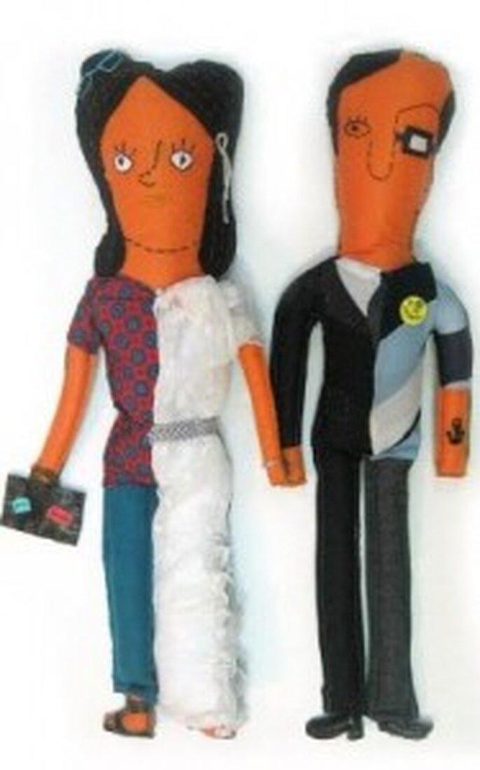 Conchita y Manuel, muñecos personalizados de La Muniequera