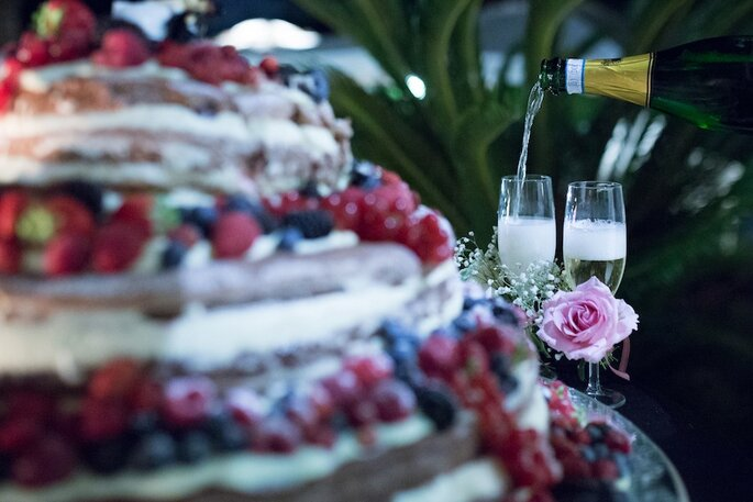 La Naked Wedding cake di Magnolia Eventi