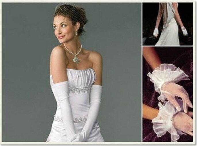 Los guantes de novia ofrecen un toque elegante y sofisticado