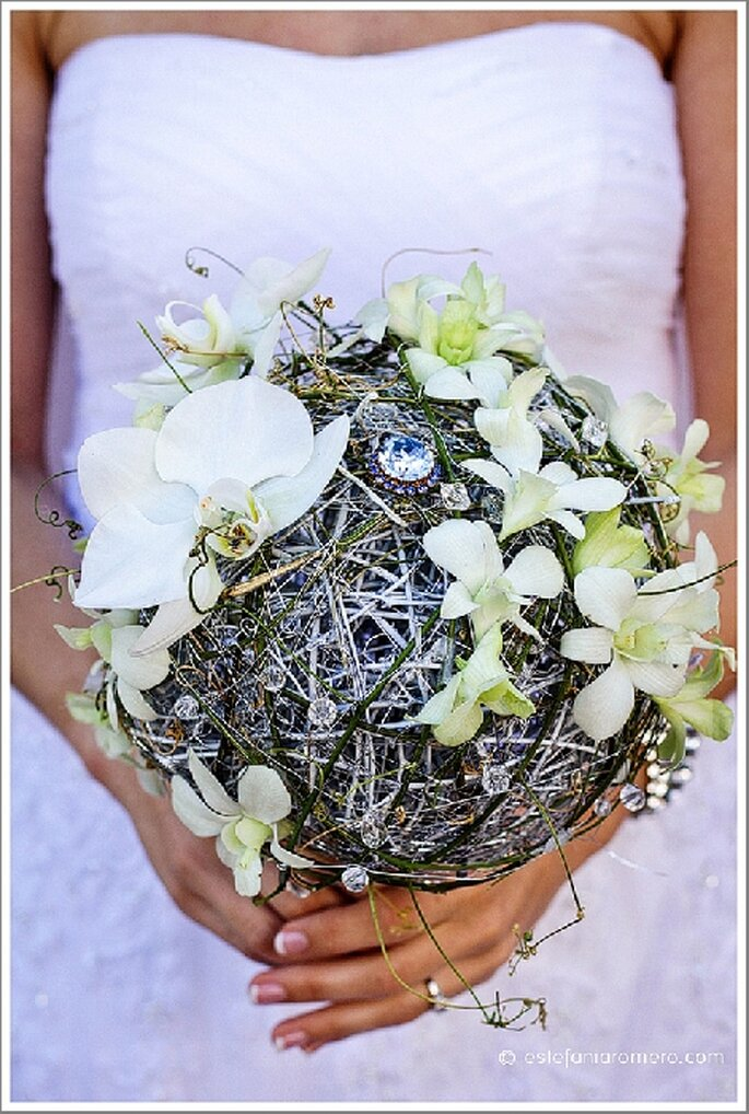 Ideas para un ramo de novias de otoño. Foto de Estefania Romero