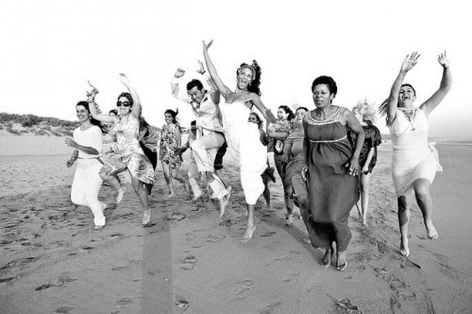 Mariage multiculturel : soigne les faire-part
