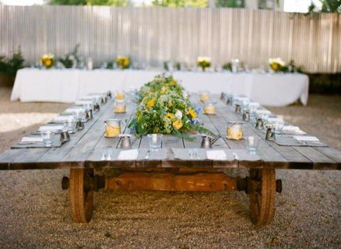 Die Hochzeitstrends 2014 - Was nächstes Jahr in Sachen Hochzeit auf den Tisch kommt. Foto Sylvie Gil Photography