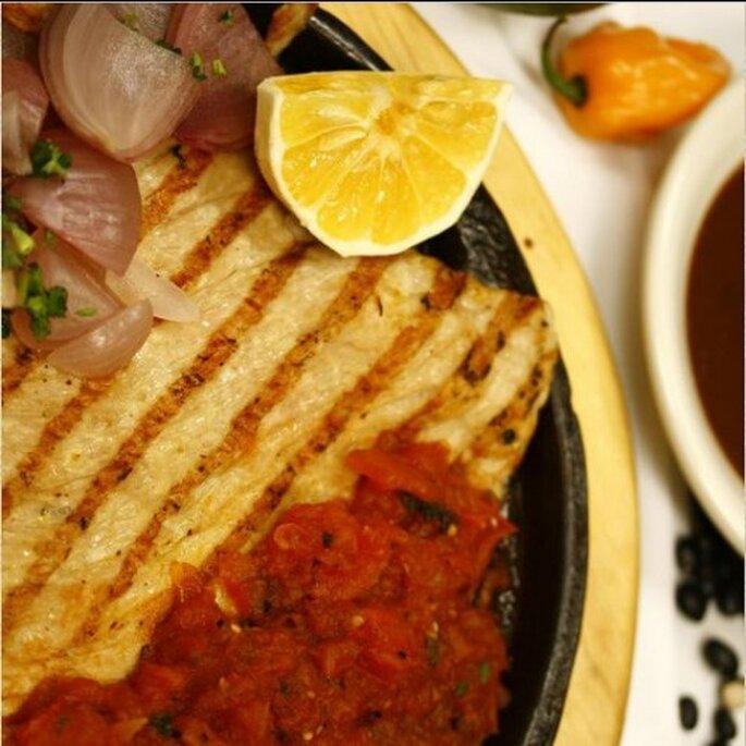 Poc Chuc, uno de los platillos con más combinación de sabores - Foto Restaurante Los Almendros (Mérida, Yucatán)