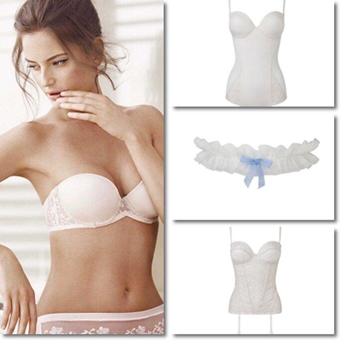 Gemma, lingerie pour mariées 2012. - Photo : Gemma