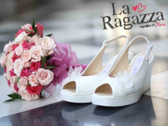 Peep Toes de novia- Foto: La Ragazza