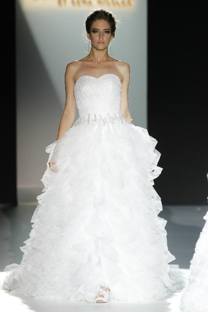 Brautkleider mit viel Tüll aus den Kollektionen von 2013 Cabotine ByGema Nicolas_