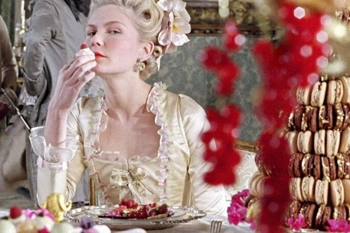 Marie Antoinette e i macarons
